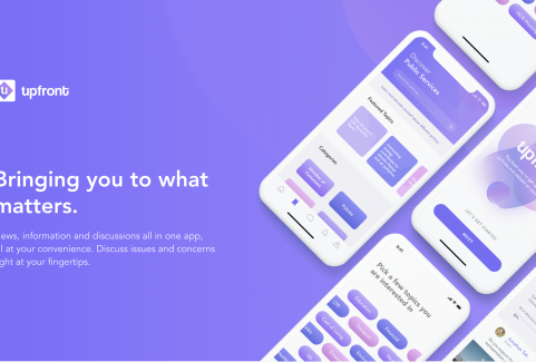 UpFront Mobile App (UI/UX) Design