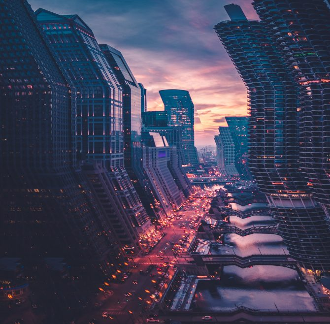 The Bending City