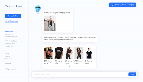 Product Demo Website